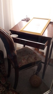 Charlotte's writing desk