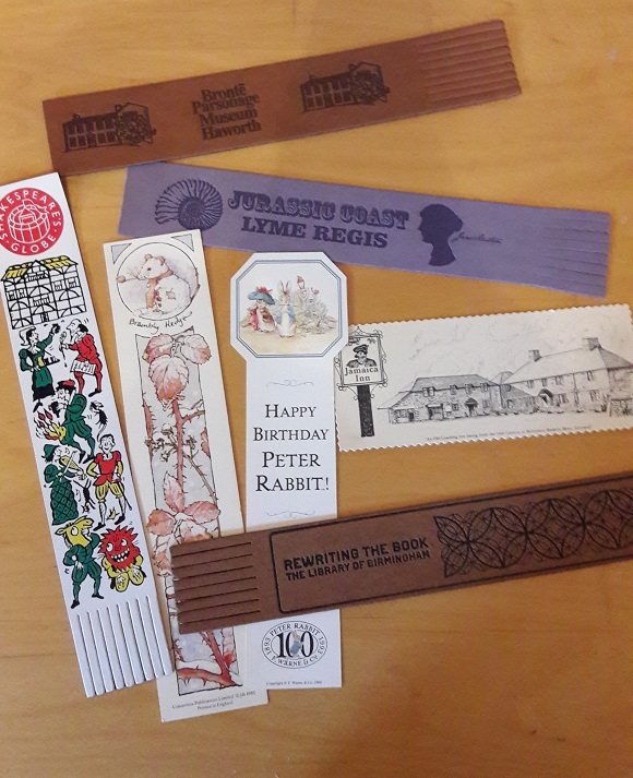 literary bookmarks